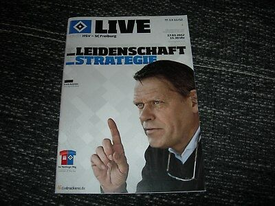 Unter Der Voraussetzung Programm 2011/12: Hamburger Sv - Sc Freiburg