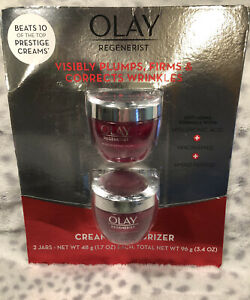 2-Pack-OLAY-Regenerist-Micro-Cculpting-Anti-Aging-Moisturizer-1-7oz-NEW-SEALED