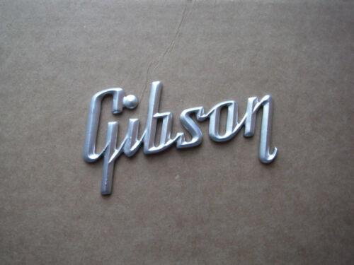 Flat Silver Large Gibson Amp Logo large