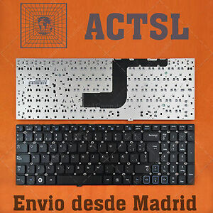TECLADO-ESPANOL-para-Samsung-Rv520-Black-Without-Frame