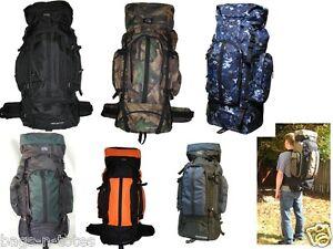 Nexpak-HB001-5400CI-4700CI-Internal-Frame-Hiking-Hunting-Rucksack-Backpack-NEW