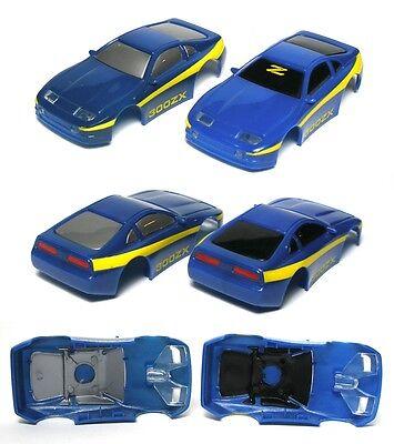 1 1991-93 TYCO TCR Nissan 300ZX Rare Blue//Yel Body 6331