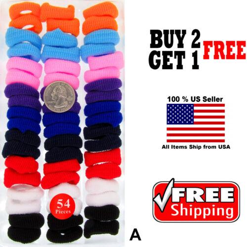 Girls Kids Rainbow Colorful Scrunchies Hairbands Hair Rope Elastic Headbands