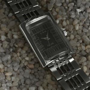 Gun-Metal-Grey-Dial-Charles-Rennie-Mackintosh-Ladies-Cocktail-Bracelet-Watch
