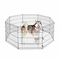 Pet Trex 24 Exercise Playpen For Dogs Eight 24 X 24 High Panels W/gate