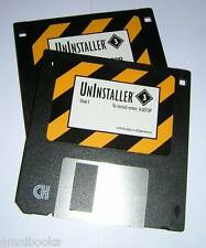 Vintage MicroHelp UnInstaller 3 Utility Software for Windows Diskettes (1995)