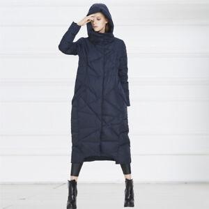 für die ganze Familie 60% Freigabe Markenqualität Details zu Damen Mantel Daunenmantel Parka Steppmantel Wintermantel  Bodenlang Mit Kapuze
