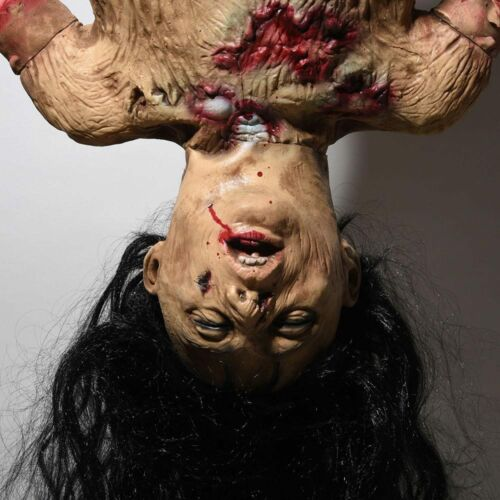 Halloween Prop Limbless Woman Corpse Hanging Haunted House Party Decor