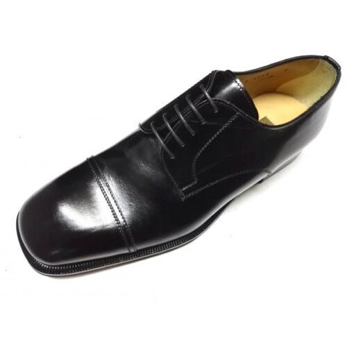 Classiche Inglese Pelle Italy Vera Made Nero Lacci Classico Scarpe Stile Uomo 1PHHq