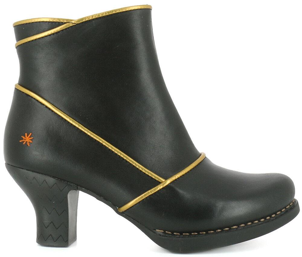 La empresa de arte Zapatos Harlem Estrella Estrella Estrella oro Negro botas al tobillo Botines 0945  245 40  envio rapido a ti
