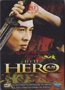 DVD-HERO-Jet-Li-Tarantino-Ed-SPECIALE-30-ANNIVERSARIO-3-DISCHI-RARO-STEELBOOK