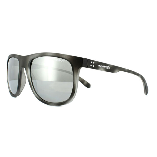 10be490ef8 Arnette Sunglasses Crooked Grind 4235 2462Z3 Grey Havana Silver Mirror  Polarized