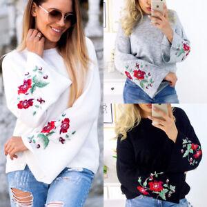 Women-Long-Sleeve-Loose-Sweater-Knitted-Cardigan-Coat-Jacket-Outwear-Casual-New
