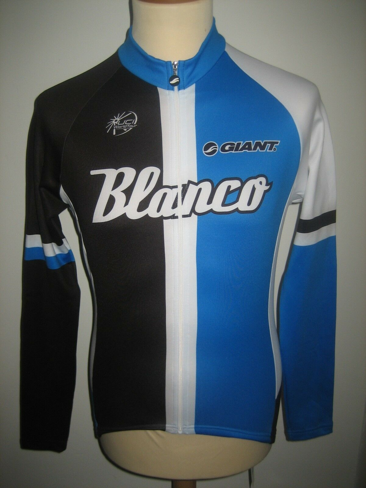 whiteo pro cycling team RIDER version jersey shirt cycling winter maillot size S