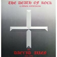 Daevid Allen The Death Of Rock & Other Entrances CD NEW SEALED Gong