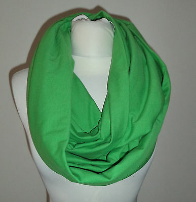 NWT American Apparel Grass Green Large Circle Scarf Neck Scarf Scarve