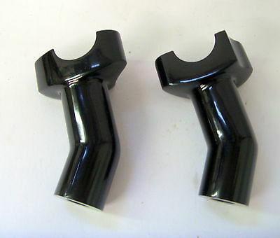 "3 1/2"" BLACK PULL BACK HANDLEBAR RISER SET for HARLEY DAVIDSON"