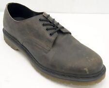 Dr Martens 4 Eyelet Brown Oiled Leather  Oxfords Men's 14 M