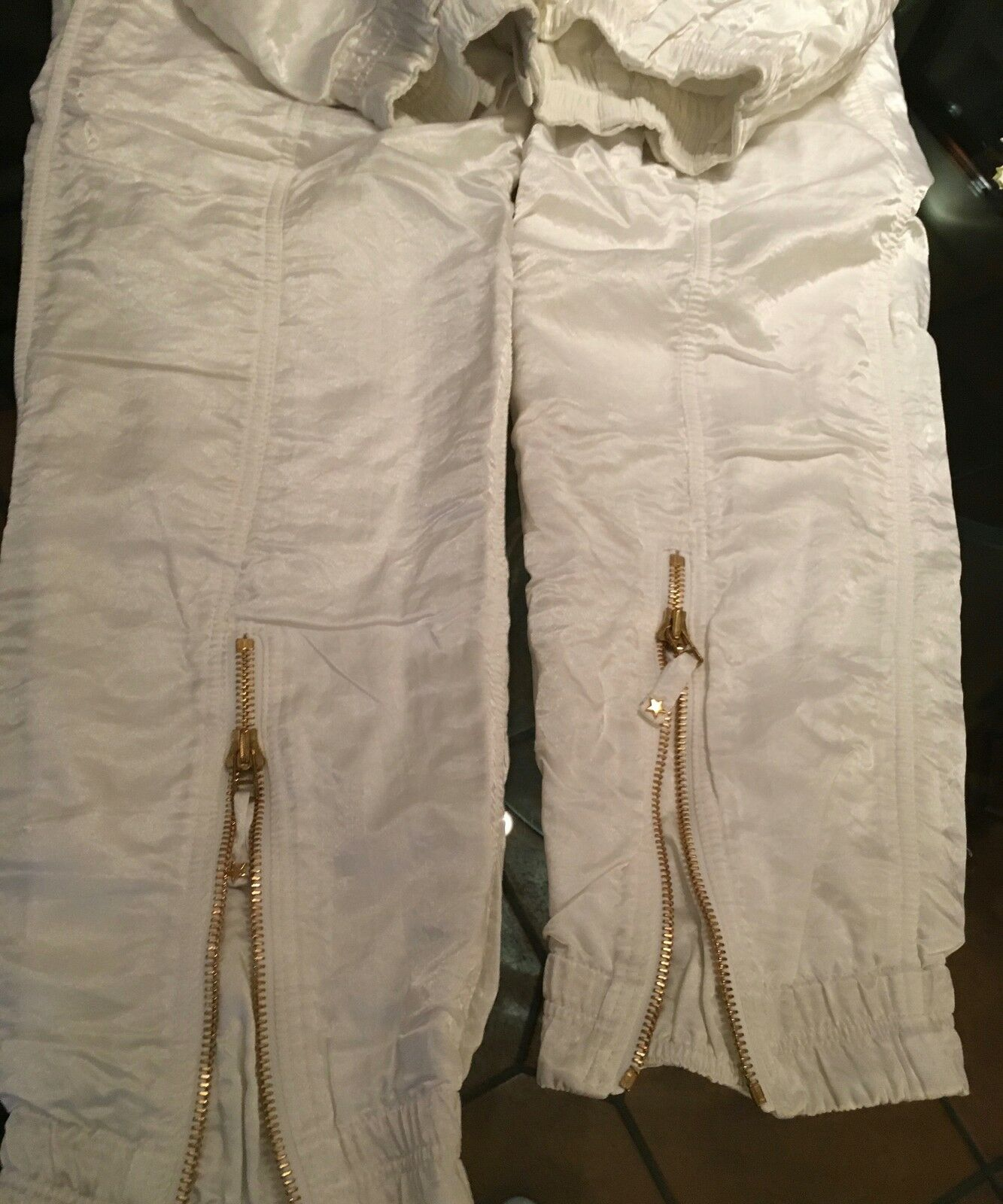 SKIHOSE SKIHOSE SKIHOSE DES LUXUSLABELS LILY FAROUCHE  WEISS   38 40  WINTER HOSE a409ad