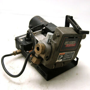 Lincoln Electric Power Mig    Welder       Wire       Feed       Feeder    Speed