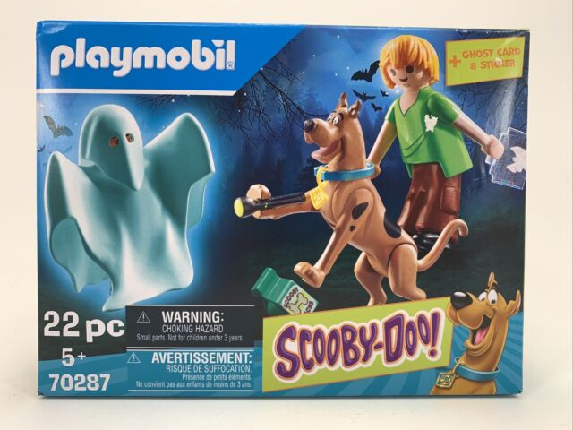 PLAYMOBIL #70287 Scooby-Doo w/ Shaggy & Ghost New 2020!
