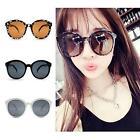 Fashion Women Lady's Retro Round Over-sized Frame Eyewear Arrow Style Sunglasses