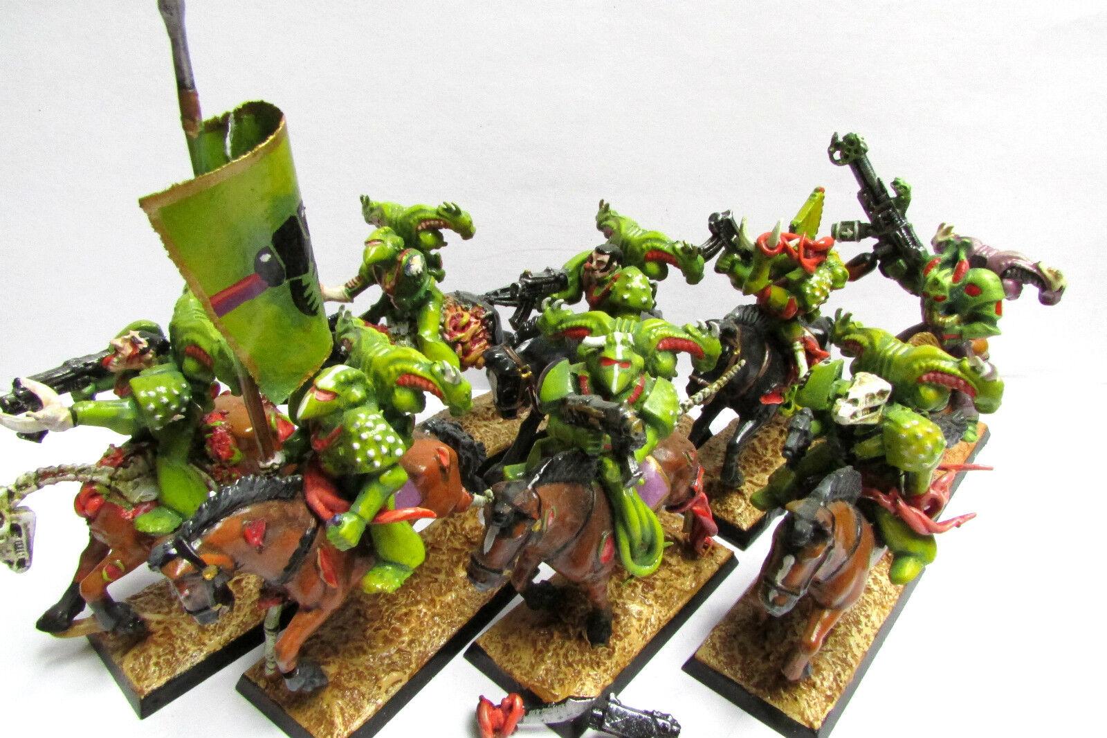 Épuisé warhammer 40k ROGUE TRADER RTB01 Nurgle Chaos Space Marines Cavalerie