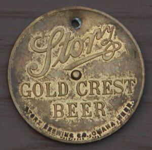 Storz-Gold-Crest-Beer-Omaha-Nebraska-You-Pay-spinner-token