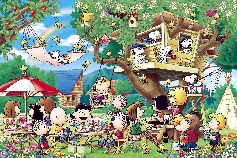 1000 stck snoopy erdnsse baumhaus (50x75cm) epoche aus japan