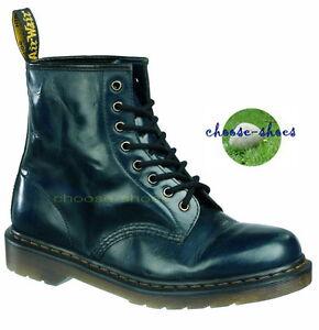 8 loch 13759410 Worn Dr Navy Martens 1460 Stiefel Doc YI0qB