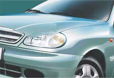 Cilia head lights Headlights eyebrows Daewoo Lanos 1997- Design eyebrows type -3