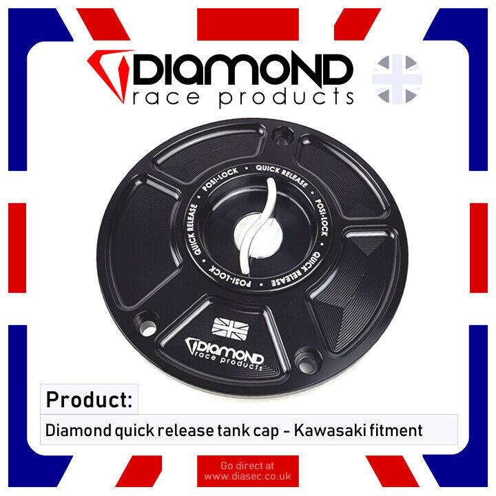 Diamant - Schnellverschluss Tankdeckel - Kawasaki Z1000 ( Inkl. SX) 18-19 2018