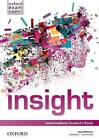 Insight: Intermediate: Student's Book by Oxford University Press (Paperback, 2013)