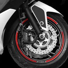 TIRAS ADHESIVO para ruedas compatible para SCOOTER XCITING 300 - 400 - 500 KYMCO