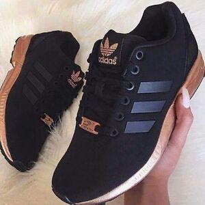adidas zx flux negro cobre