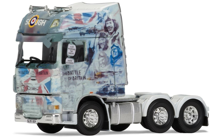 CORGI DAF 105 CAB UNIT SLOUGH INTERNATIONAL FREIGHT(BATTLE OF BRITAIN) CC14124