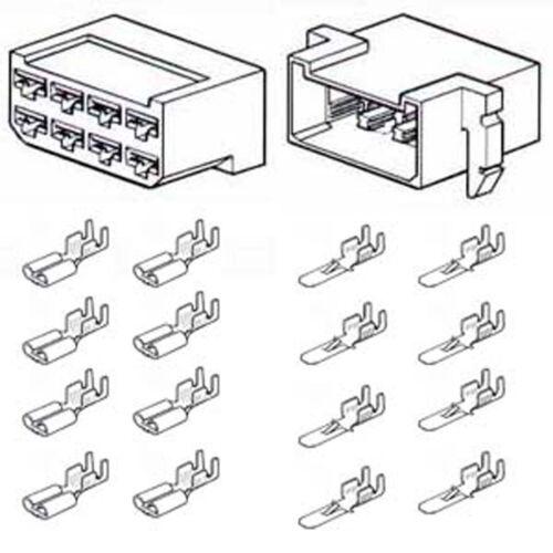 Multiple Connectors 8-way Male /& Female