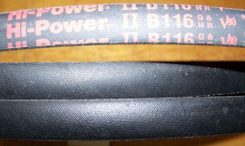 Gates Hi-Power II V Belt B116