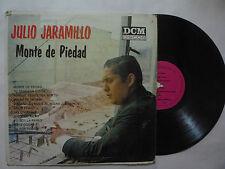 """JULIO JARAMILLO """" MONTE DE PIEDAD """"  DCM 1971 - VERY RARE - BOLERO - MEXICAN LP"""