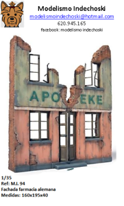 WWII-farmacia-alemana-1-35-diorama-German-pharmacy-building-ruins