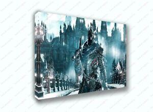 Dark Souls 3 Knight Artorias Game Poster Canvas Print Art Decor Wall Ebay