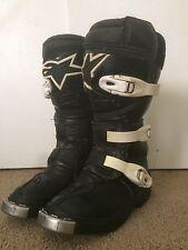 Alpinestars Motocross MX Off Road Boots Youth Size 11 black