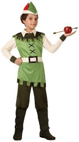 Robin Hood Atosa 8422259159339 Verkleidung Waldjunge Größe 128 Jungen