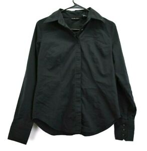 NY-amp-C-New-York-Company-Women-Small-Stretch-Career-Office-Suit-Dress-Shirt-Blouse