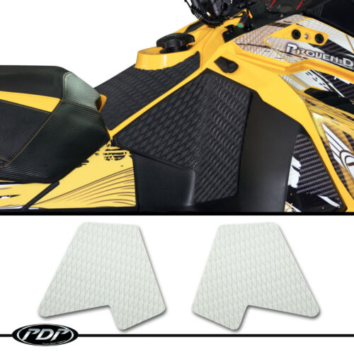 MXZ 600 Ski Doo XS 2013 WHITE XRS TNT 800 PDP Snowmobile Knee Pads