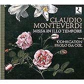 Monteverdi-Missa-in-Illo-Tempore-Odhecaton-Audio-CD-New-FREE-amp-FAST-Deliver