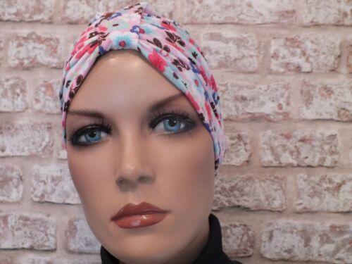 leucémie Coton Jersey Hat Turban chimio coiffure pour le cancer perte de cheveux