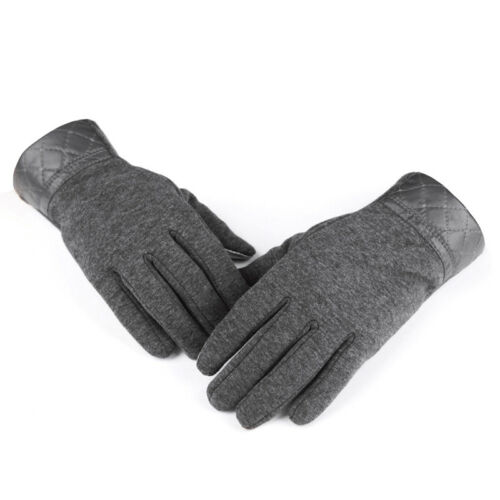 Touchscreen Handschuhe Herr Handschuhe Winterhandschuhe für Smartphon Dunkelgrau