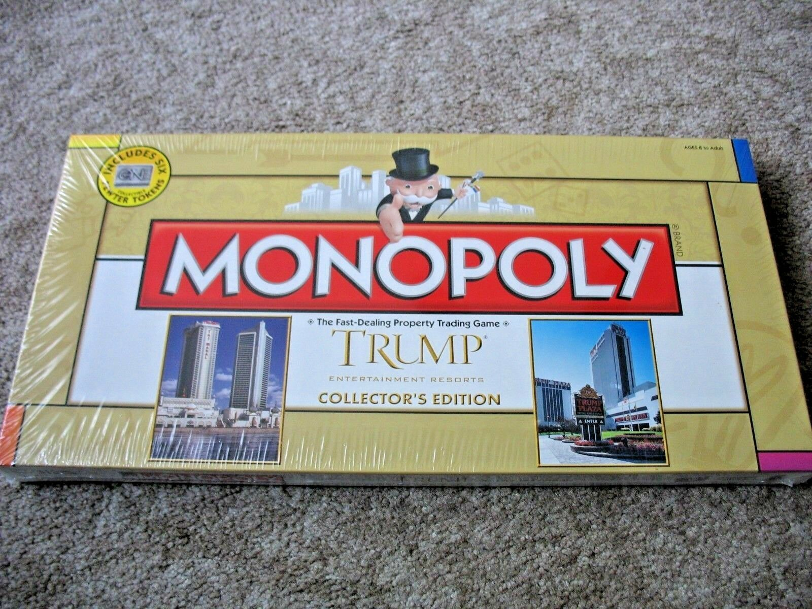 Nouveau Trump EntertainHommest Monopoly Board  Game Collector's Edition FACTORY SEALED  Réponses rapides