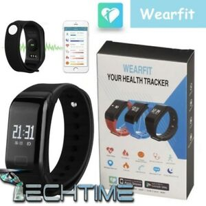 SMARTWATCH-SMART-BRACELET-WEARFIT-ANDROID-IOS-BLUETOOTH-SEGNAPASSI-IP67